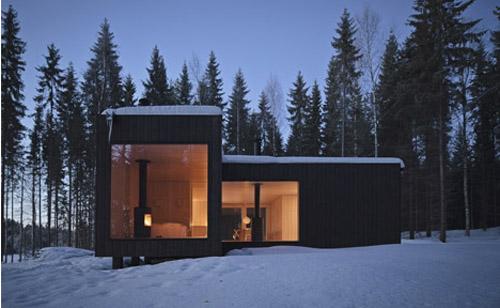 Проект маленького дома одноэтажного коттеджа