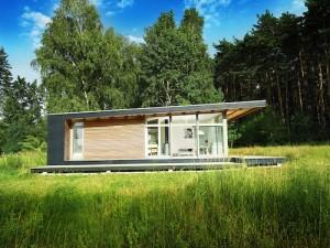 Проект 1 этажного мини дома