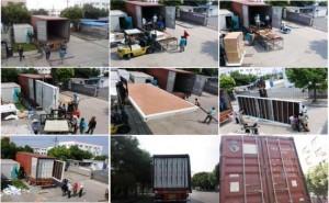 Транспортировка контейнерного дома к месту назначения