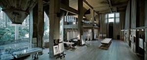 Часть студии архитектора