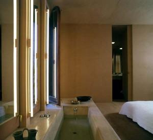 Ванная комната в доме после перепланировки