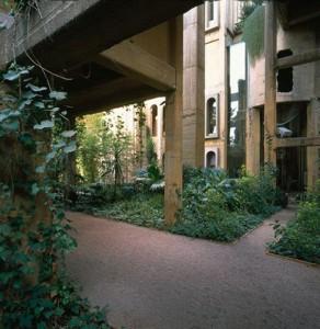 Зеленые внутренние дворики