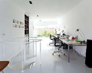 Дизайн рабочего кабинета в коттедже