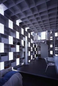 Интерьеры современного японского частного дома