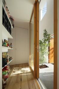 Внутреннее пространство городского часного дома
