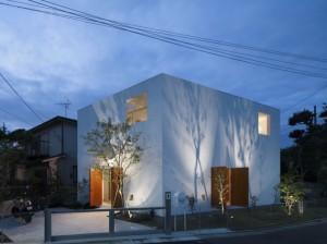 Частный городской дом в Японии