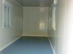 Внутренняя отделка дома из морского контейнера