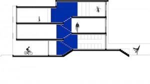 Проект городского частного дома