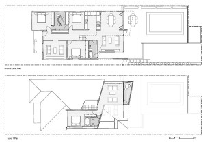 Проект двухъэтажого коттеджа