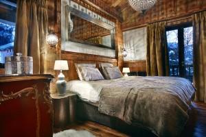 Спальня в шале
