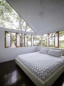 Солнечная спальня с хорошей вентиляцией