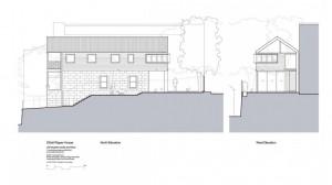 Проект городского современного дома