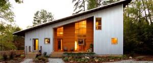 Современный сборный дом из модулей