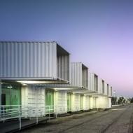 постройка из морских контейнеров грузовых