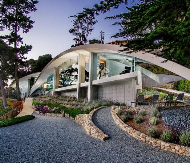 современная архитектура коттеджей
